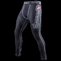 Metaru 47 Silver Compression Pants Black