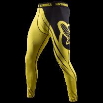 Recast Compression Pants - Yellow/Black