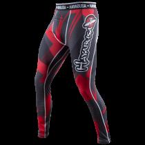 Metaru 47 Silver Compression Pants Black/Red