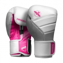 T3 Boxing Gloves White/Pink